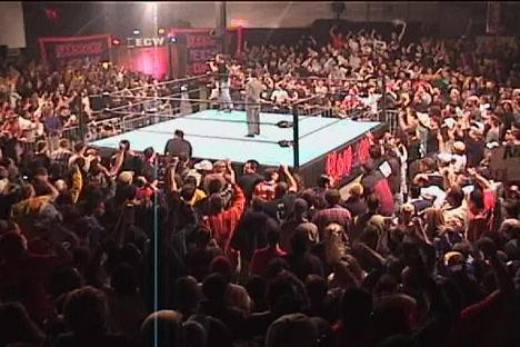 inside the ECW arena